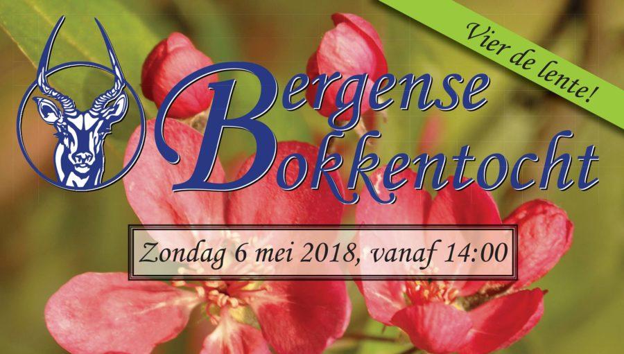 Bergense Bokkentocht 6 mei 2018